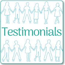 "speech therapy ""Testimonials"" link"